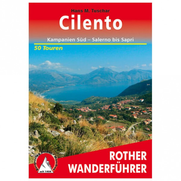 Bergverlag Rother - Cilento - Walking guide books