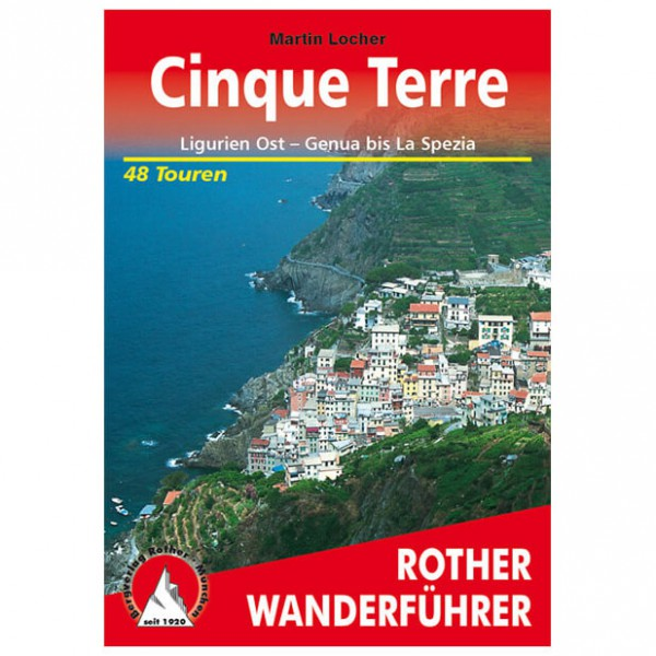 Bergverlag Rother - Cinque Terre - Walking guide books