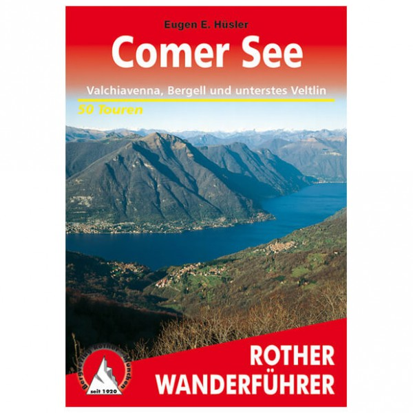 Bergverlag Rother - Comer See - Walking guide books