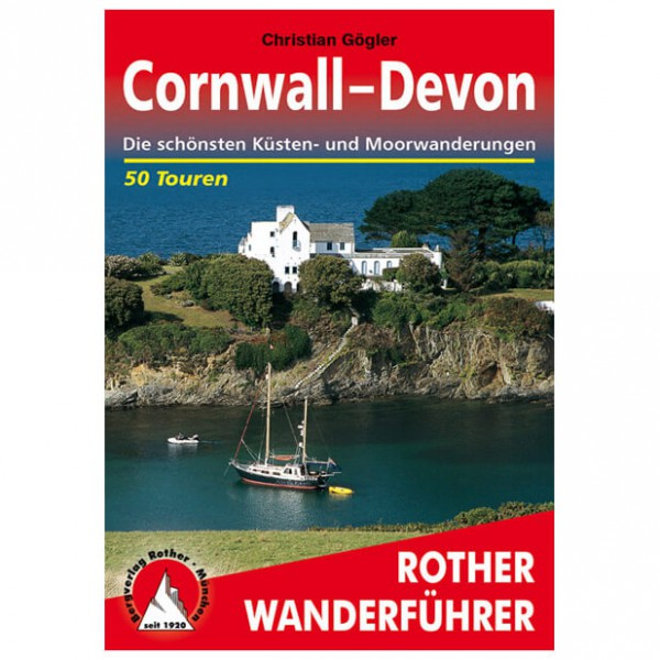 Bergverlag Rother - Cornwall-Devon - Vandreguides
