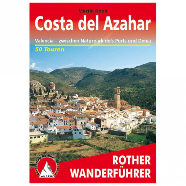 Bergverlag Rother - Costa Del Azahar - Vaellusoppaat
