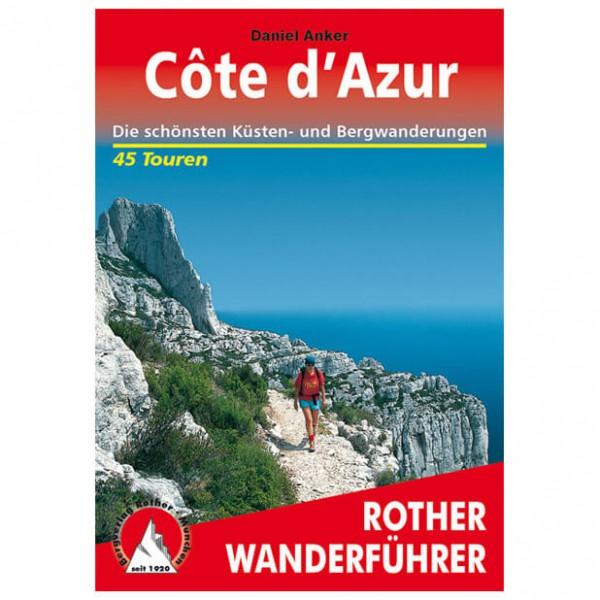 Bergverlag Rother - Cote d'Azur - Vaellusoppaat