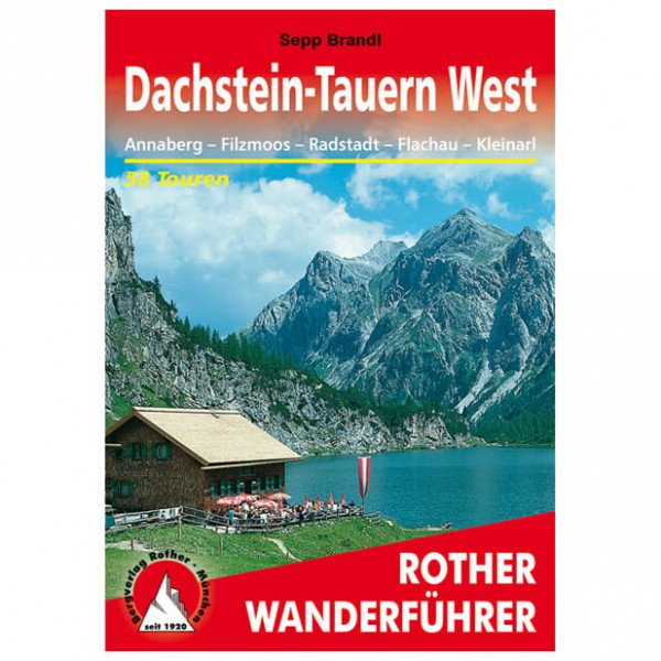 Bergverlag Rother - Dachstein-Tauern West - Vandreguides