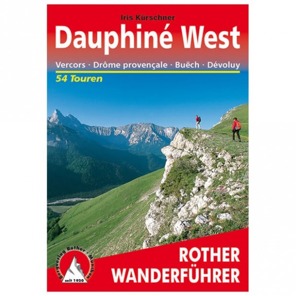 Bergverlag Rother - Dauphine West - Walking guide books
