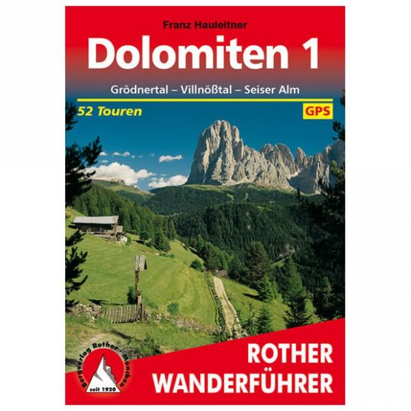 Bergverlag Rother - Dolomiten 1 - Wandelgidsen