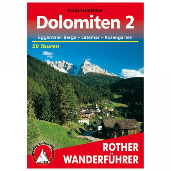 Bergverlag Rother - Dolomiten 2 - Guides de randonnée