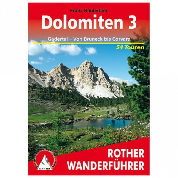 Bergverlag Rother - Dolomiten 3 - Vandreguides