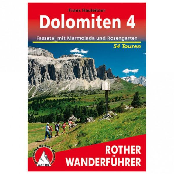 Bergverlag Rother - Dolomiten 4 - Walking guide books
