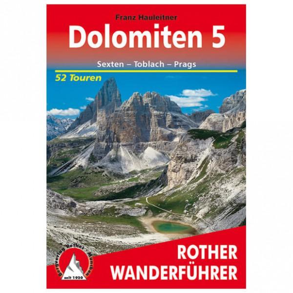 Bergverlag Rother - Dolomiten 5 - Vaellusoppaat