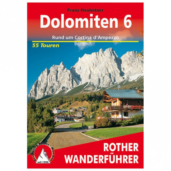 Bergverlag Rother - Dolomiten 6 - Wandelgidsen