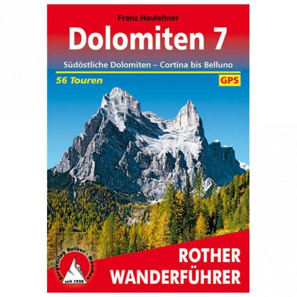 Bergverlag Rother - Dolomiten 7 - Vaellusoppaat