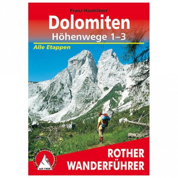 Bergverlag Rother - Dolomiten-Höhenwege 1-3 - Turguider