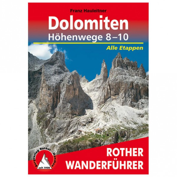 Bergverlag Rother - Dolomiten-Höhenwege 8-10