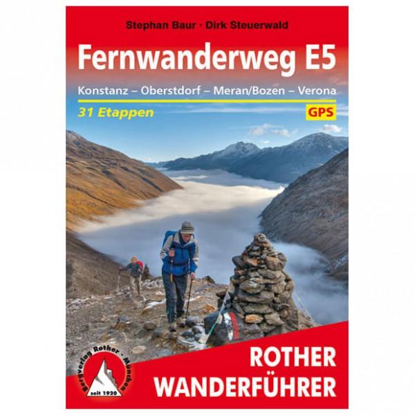 Bergverlag Rother - E5 Konstanz - Verona - Wanderführer