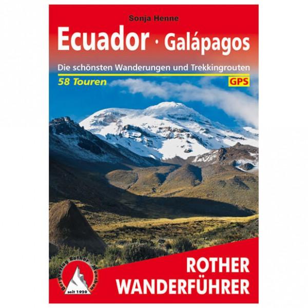 Bergverlag Rother - Ecuador - Walking guide books