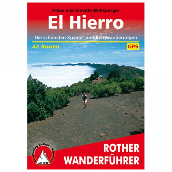 Bergverlag Rother - El Hierro - Wandelgidsen