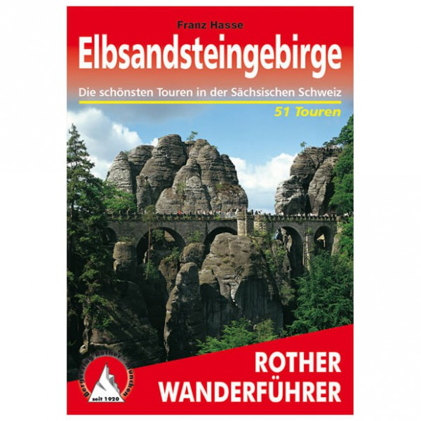 Bergverlag Rother - Elbsandsteingebirge - Vaellusoppaat