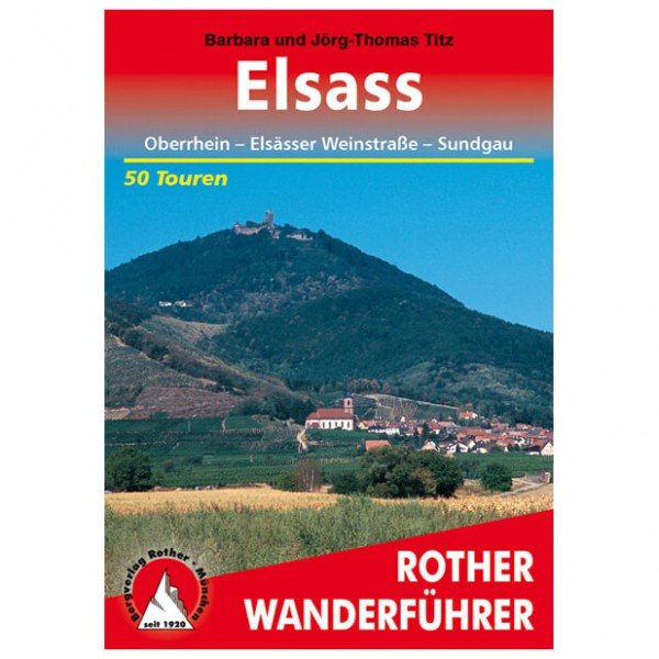 Bergverlag Rother - Elsass - Walking guide books