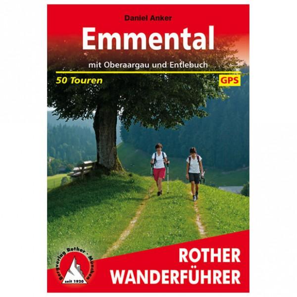 Bergverlag Rother - Emmental - Oberaargau - Vandringsguider