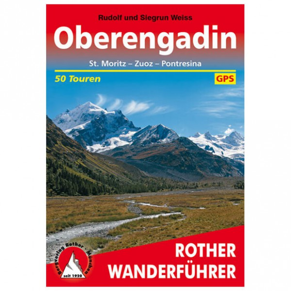 Bergverlag Rother - Engadin - Oberengadin