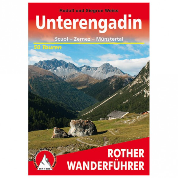 Bergverlag Rother - Engadin - Unterengadin - Walking guide book