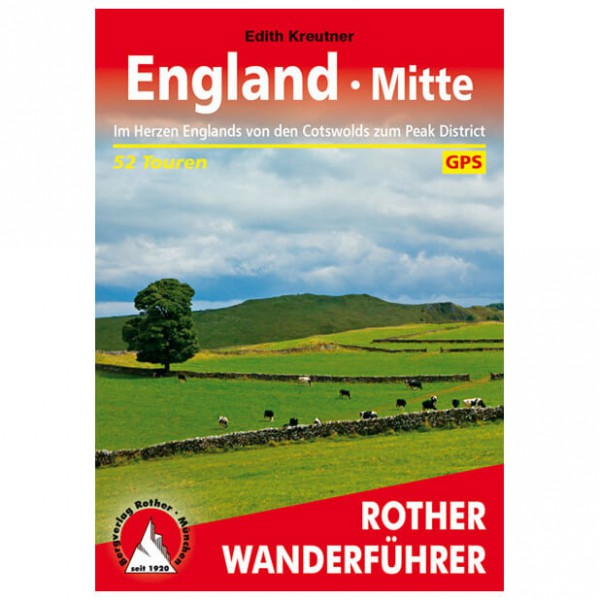 Bergverlag Rother - England Mitte Cotswolds - Walking guide book