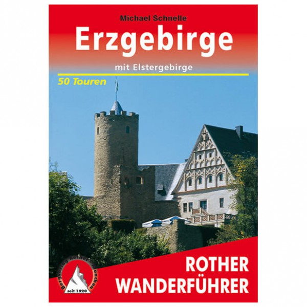 Bergverlag Rother - Erzgebirge - Vaellusoppaat
