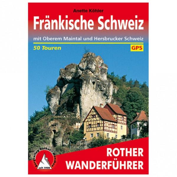 Bergverlag Rother - Fränkische Schweiz - Walking guide books