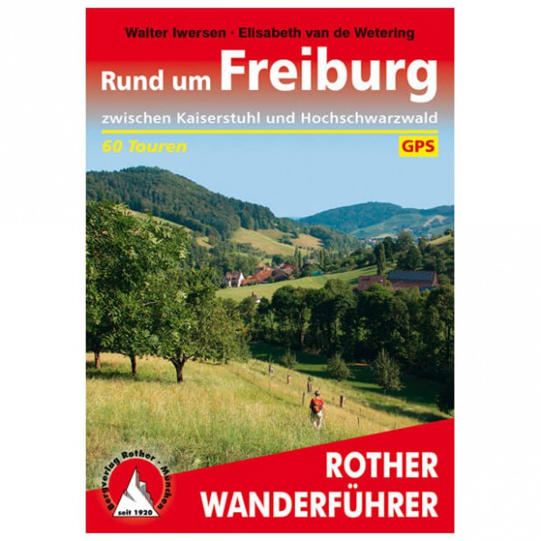 Bergverlag Rother - Freiburg - Walking guide book