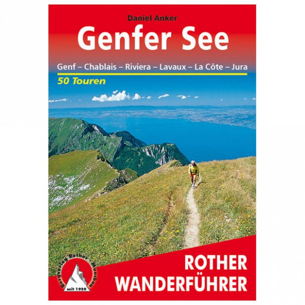 Bergverlag Rother - Genfer See - Walking guide books