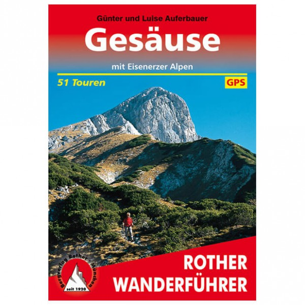 Bergverlag Rother - Gesäuse - Guides de randonnée