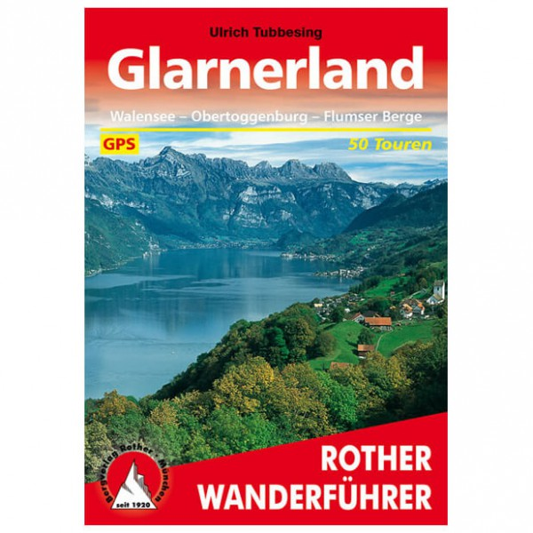 Bergverlag Rother - Glarnerland - Guides de randonnée