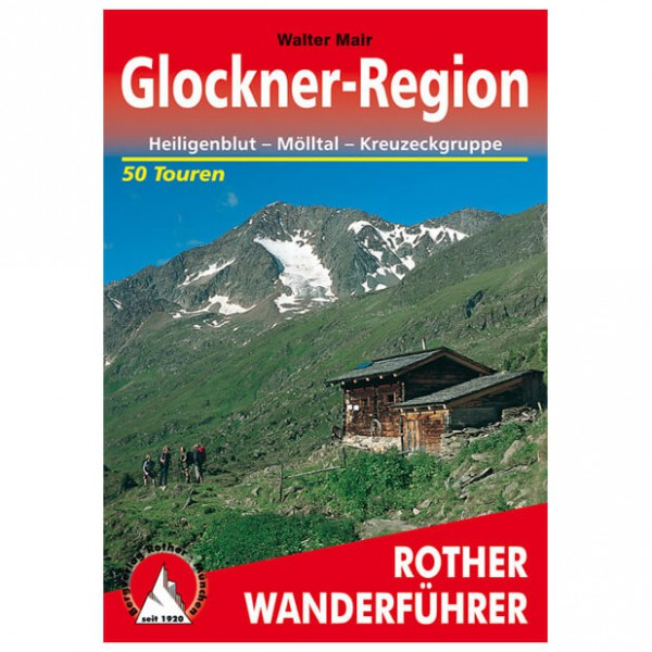 Bergverlag Rother - Glockner-Region - Wanderführer