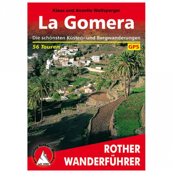 Bergverlag Rother - Gomera - Guides de randonnée