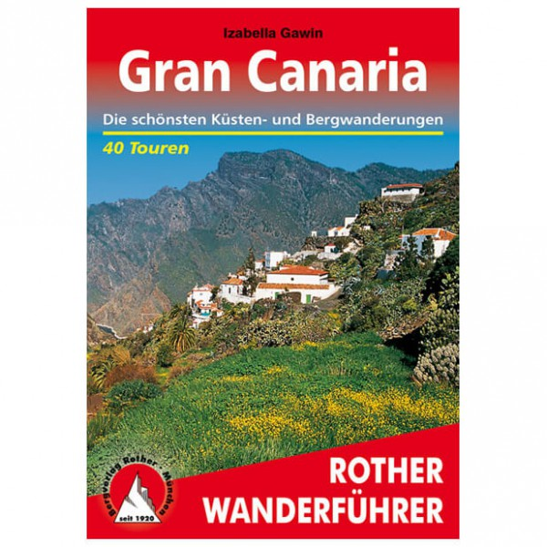 Bergverlag Rother - Gran Canaria - Vaellusoppaat