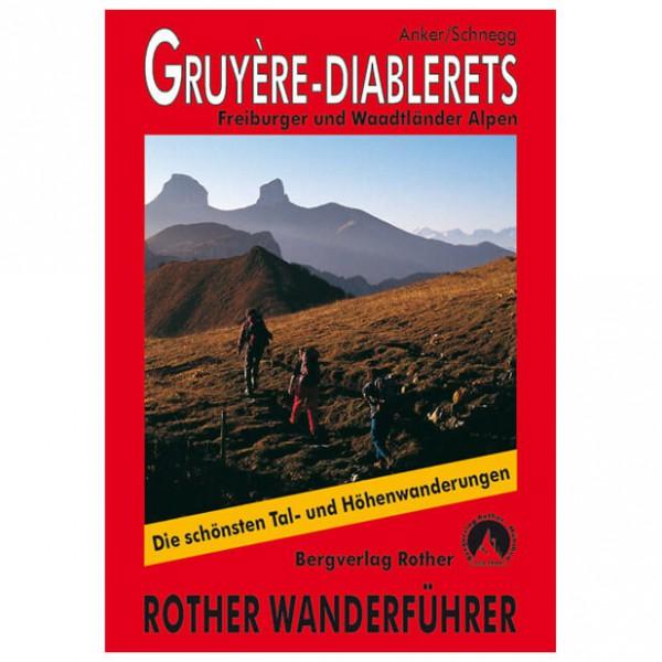 Bergverlag Rother - Gruyere - Diablerets - Walking guide book