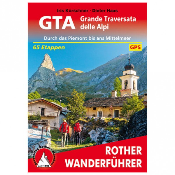 Bergverlag Rother - GTA - Walking guide book