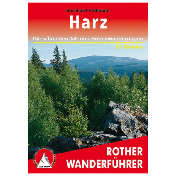 Bergverlag Rother - Harz - Walking guide books