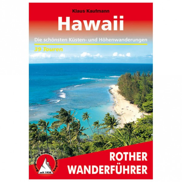Bergverlag Rother - Hawaii - Walking guide books