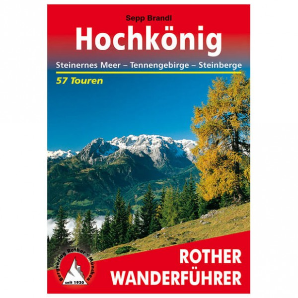 Bergverlag Rother - Hochkönig - Guides de randonnée