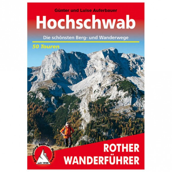 Bergverlag Rother - Hochschwab - Walking guide books