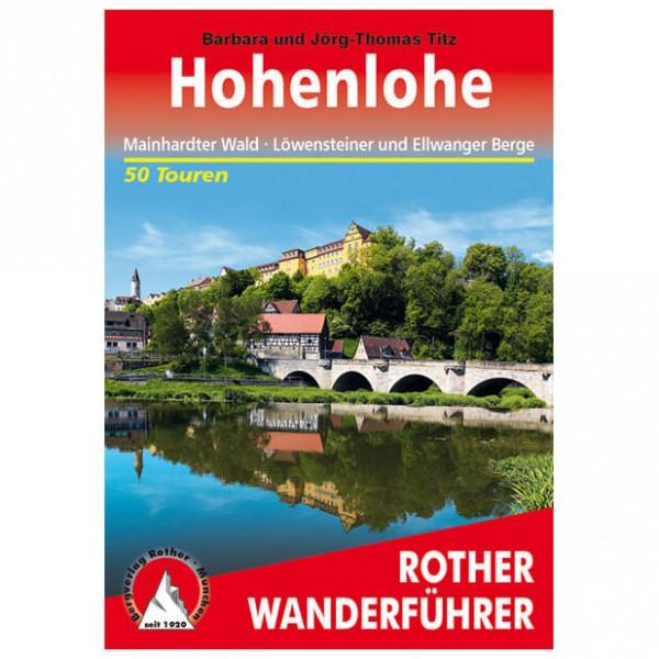Bergverlag Rother - Hohenlohe - Guides de randonnée