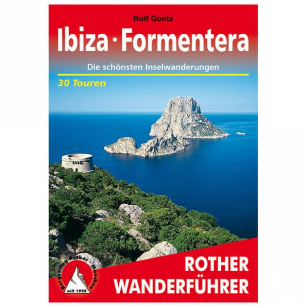 Bergverlag Rother - Ibiza - Vaellusoppaat