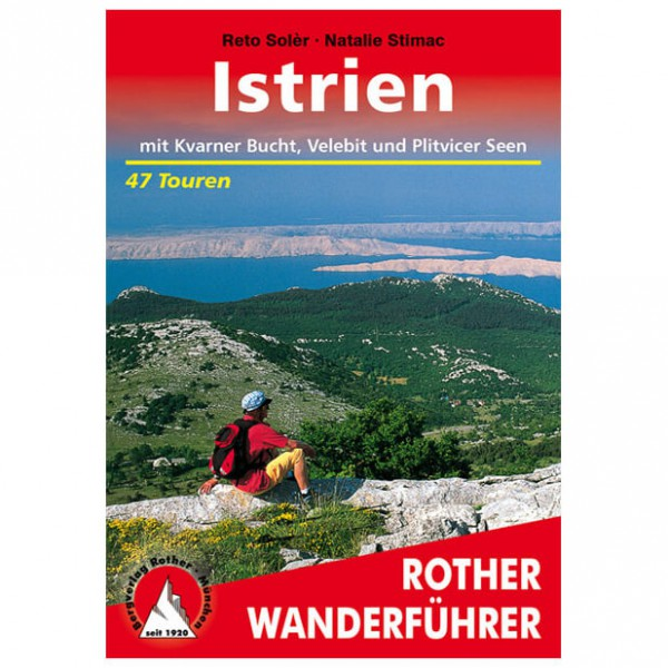 Bergverlag Rother - Istrien - Walking guide books
