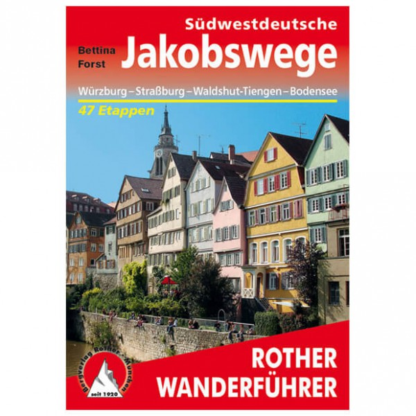 Bergverlag Rother - Jakobswege - Wanderführer