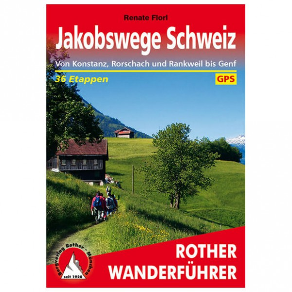 Bergverlag Rother - Jakobswege Schweiz - Vaellusoppaat