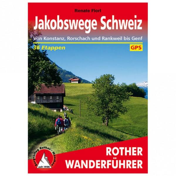Bergverlag Rother - Jakobswege Schweiz - Walking guide books