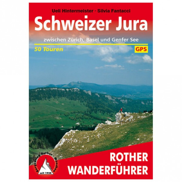 Bergverlag Rother - Jura - Walking guide books
