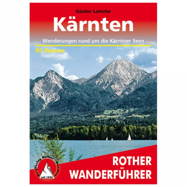 Bergverlag Rother - Kärnten - Walking guide books