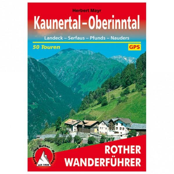 Bergverlag Rother - Kaunertal - Oberinntal - Wanderführer